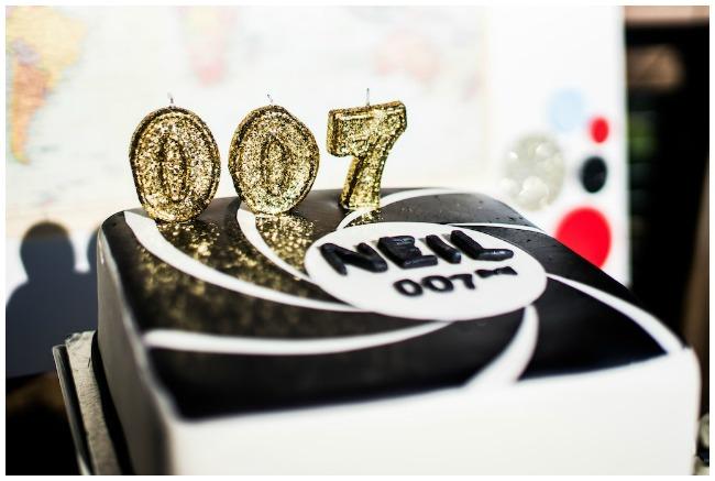 James Bond Party Cake