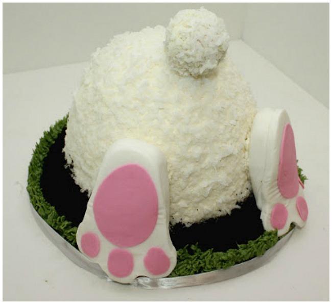 Easter bunny cake 092