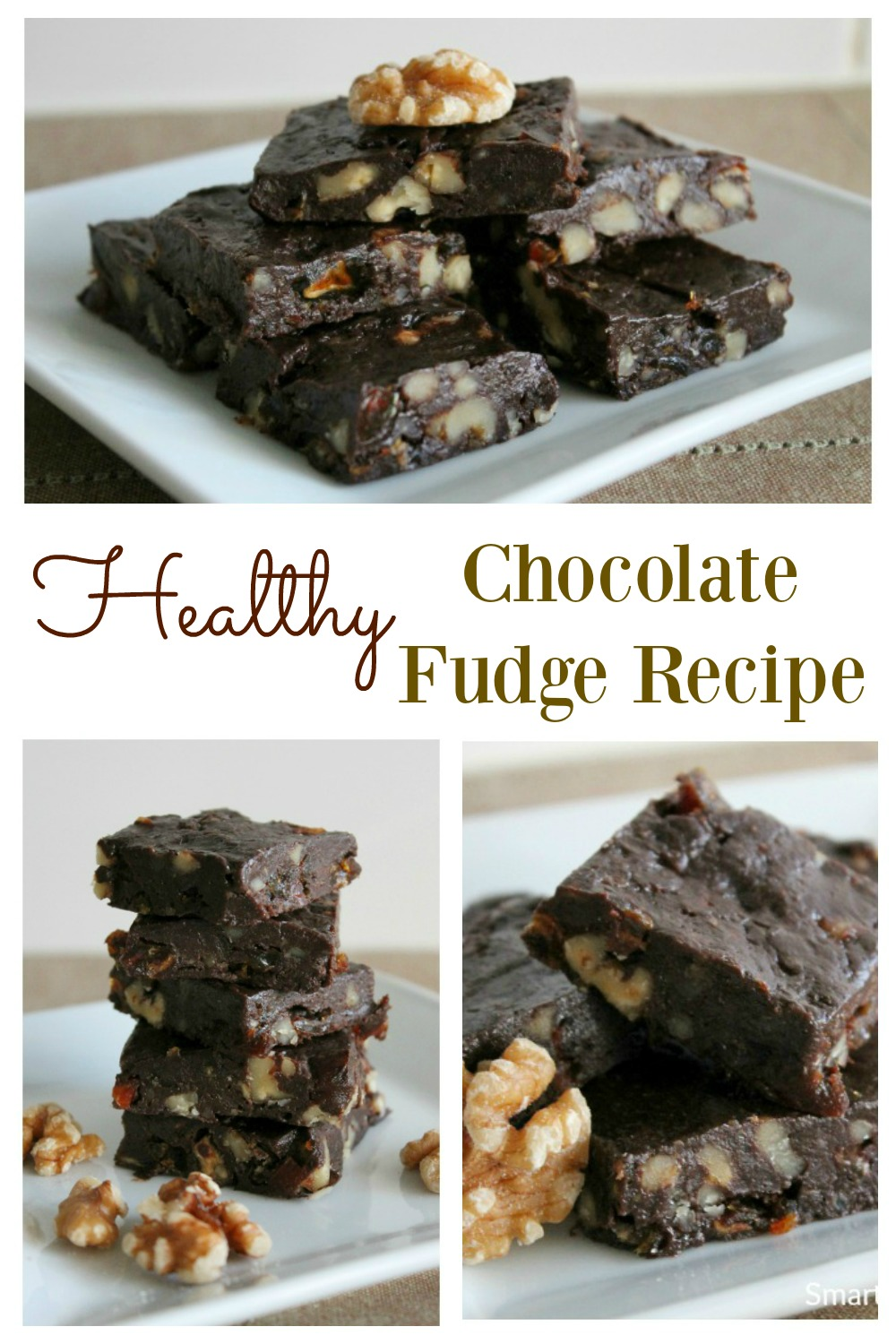 A simple healthy chocolate fudge recipe.Despite being healthy, it's rich and decadent. It's easy to make, and tastes amazing.This is the best ever chocolate fudge that you can eat guilt free.The whole family will love it, that's if you want to share with the kids! Grab this recipe now or regret it. #Chocolatefudge #Fudgerecipe #Simple #Easy #Chocolate #Healthy