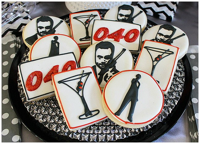 James Bond Cookies