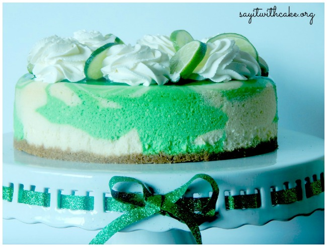 St Patrick's Day Desserts Key Lime Cheesecake