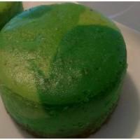 St Patrick's Day Pistachio Cheesecake