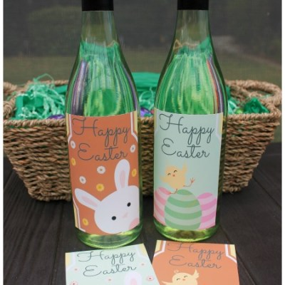 The Best Easter Wine Bottle Labels: Perfect As An Easter Gift