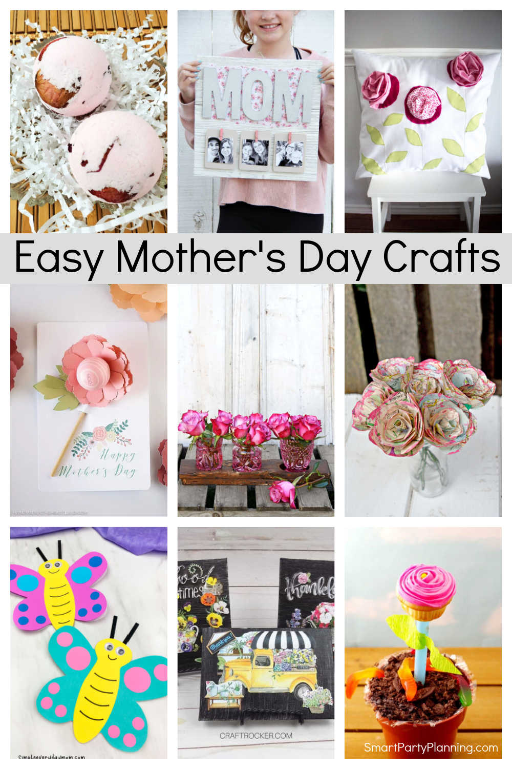 Easy Mother's Day Crafts Ideas