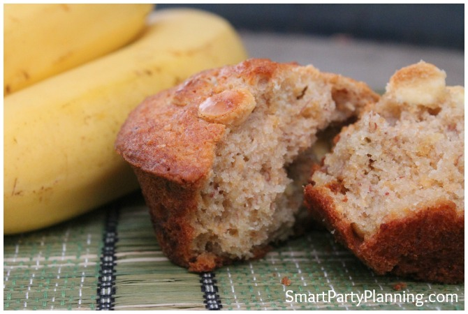 White chocolate banana muffin recipe