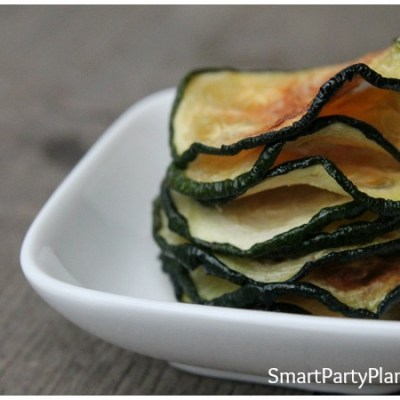 The Most Sensational Baked Zucchini Chips Recipe