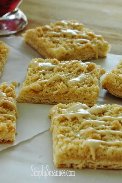 Lemon crumble cookies