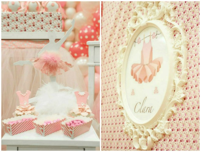 Ballerina Birthday Party Decoration