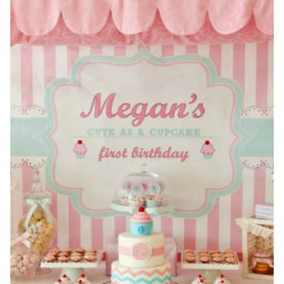The Most Delightful Cupcake Shoppe Birthday Party
