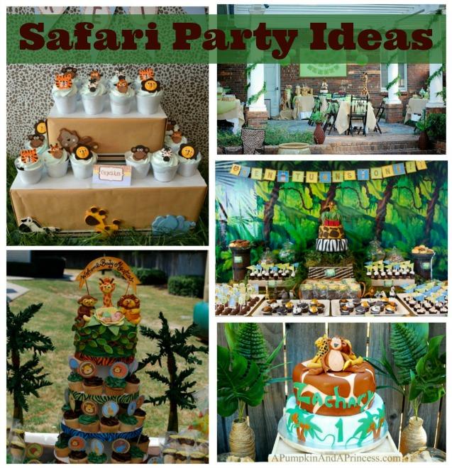 Safari Party Ideas