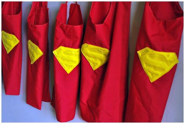 Superman capes