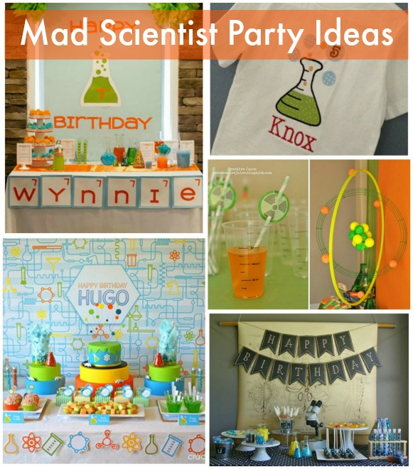Mad Scientist Party Ideas