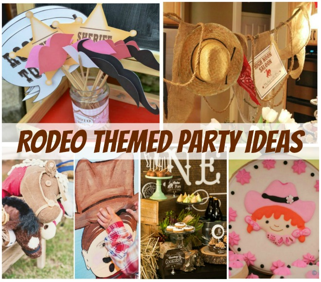 Rodeo themed party ideas