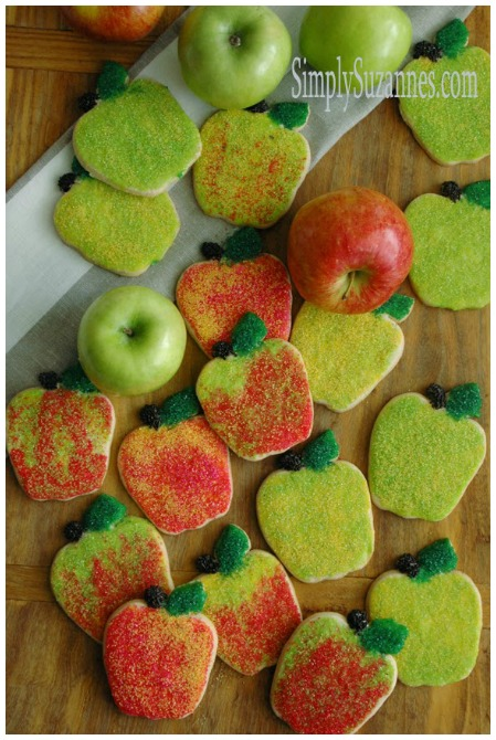 Apple Sugar Cookies