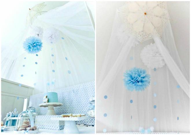 Raindrop Baby Shower Canape