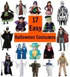 17 Easy Halloween Costumes