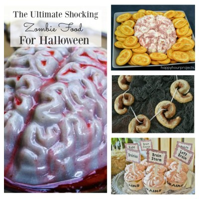 The Ultimate Shocking Zombie Food You Need For Halloween