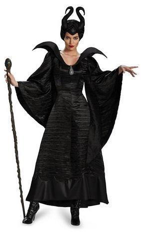 Women's Disney Maleficent Movie Maleficent Christening Black Gown