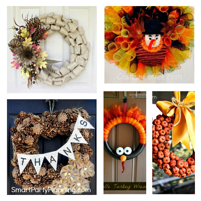 DIY Thanksgiving Wreath Ideas