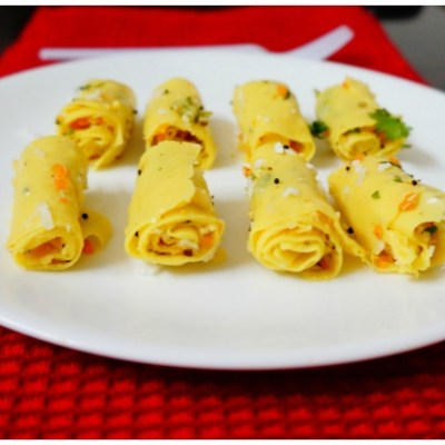 Healthy And Delicious Khandvi Recipe