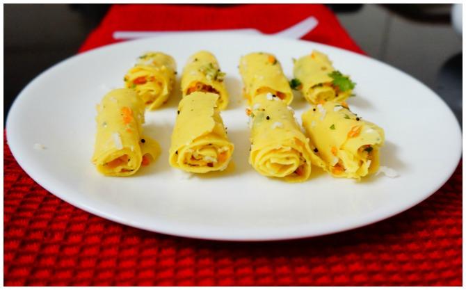 Delicious Khandvi Recipe