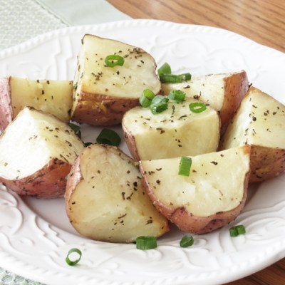 Basil Roasted Red Potatoes