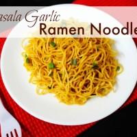 Garlic Ramen Noodles
