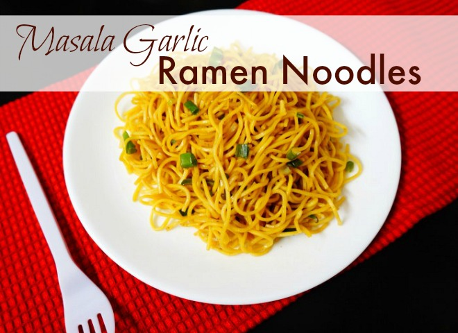 Garlic Ramen Noodles