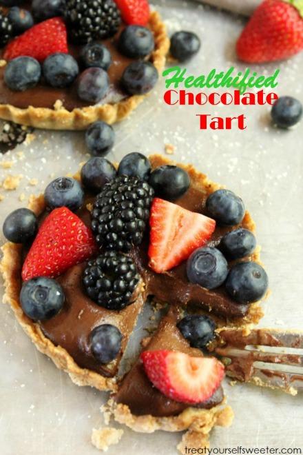 Healthified Chocolate Tart