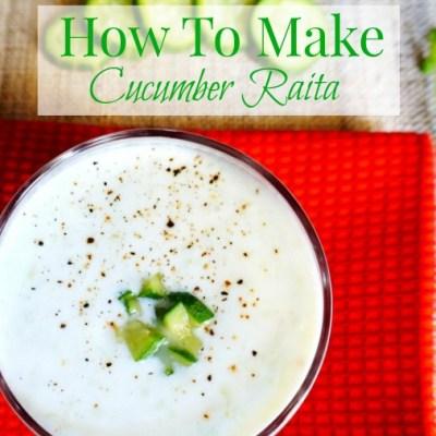 How to make cucumber Raita