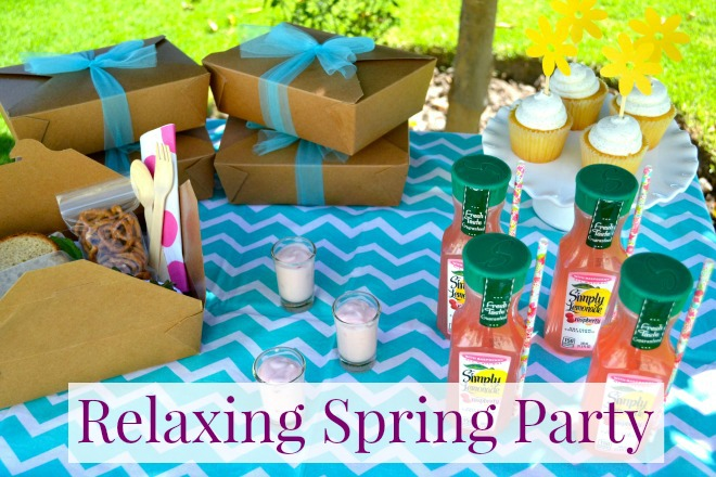 Relaxing Spring Party