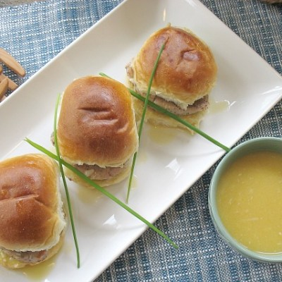 Easy Pork Sliders
