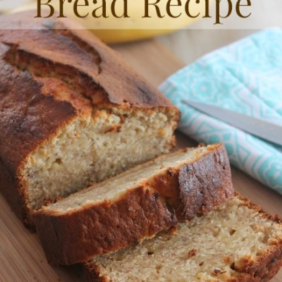 The Most Amazing Banana Bread Recipe