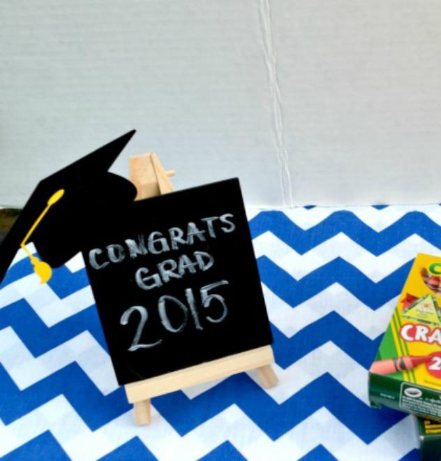 Chalkboard Graduation Easels