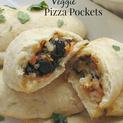 Homemade Veggie Pizza Pockets