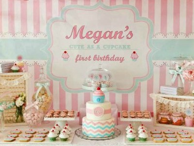 Delightful Cupcake Shoppe Birthday Party