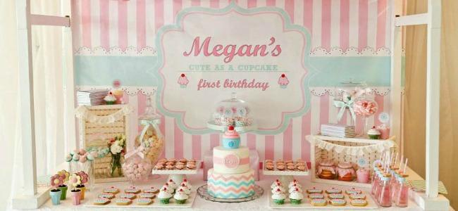 Cupcake Shoppe Birthday Party