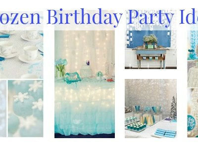 5 Awesome Frozen Birthday Party Ideas