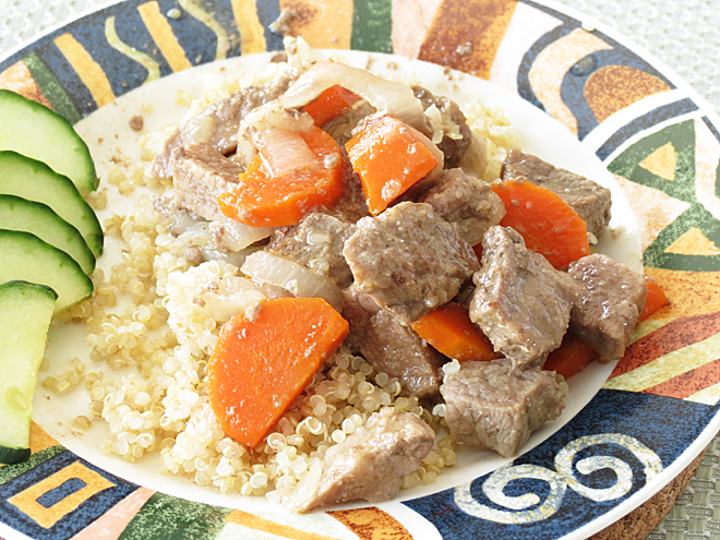 Homemade Beef Stew with Carrots