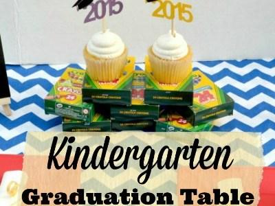 Kindergarten Graduation Table