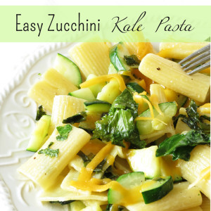 Easy Zucchini Kale Pasta I Smart Party Planning