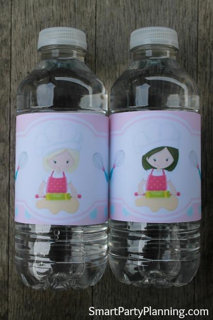 Printable Bakers Soda Bottle Labels