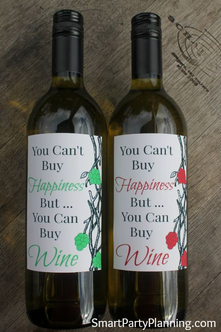 Pritnable Wine Labels
