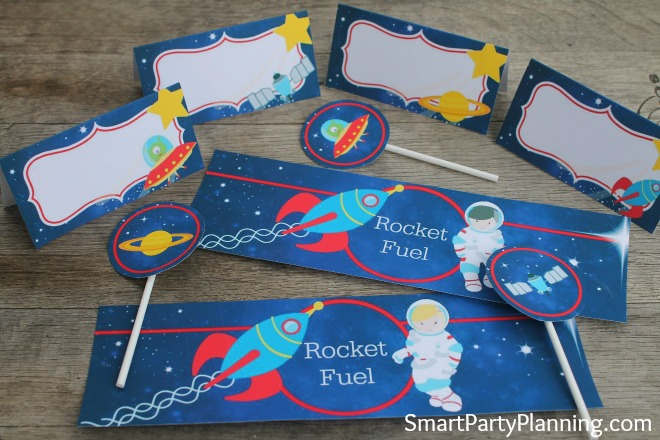Space Party Printable Package