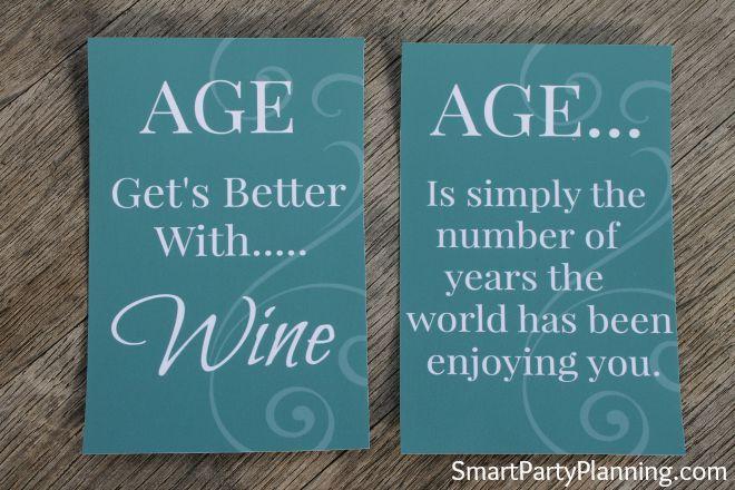 Wine Label Printables