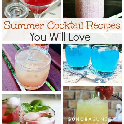 6 Summer Cocktail Recipes You Will Love