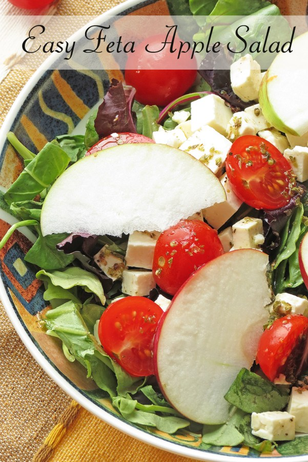 Easy Feta Apple Salad I Smart Party Planning