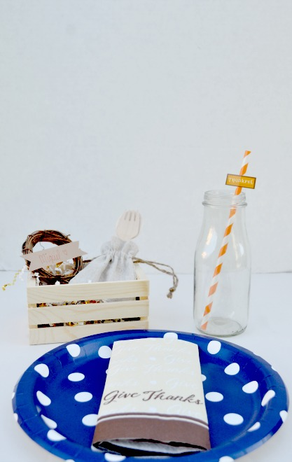 Kids Thanksgiving Place Setting 1