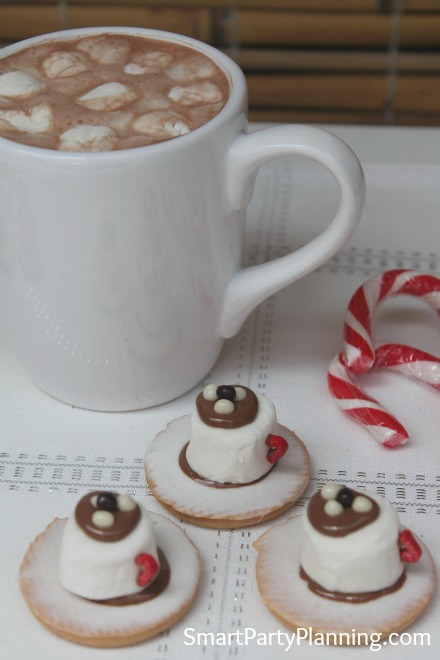 Marshmallow Tea Cup Biscuits