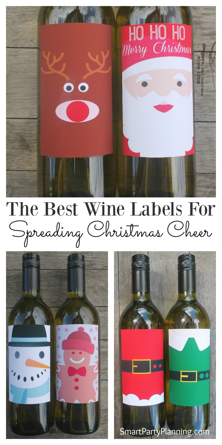 These printable Christmas wine labels will add the final festive touch to your holiday preparations. They are great to use at Christmas parties, or use for gifts, and you can guarantee that the whole family will love them. The printable Christmas wine labels are easy to download and all you need to do is attach them to your favorite bottle of wine.